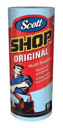 Rollo Toalla Multiusos Scott® Shop Azul