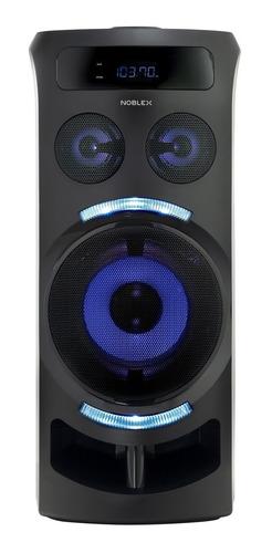 Parlante Noblex Mnt290 Portátil 3200w Bluetooth Usb Fm Aux