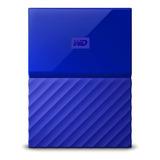 Disco Duro Externo Western Digital My Passport Wdbyft0040 4tb Azul