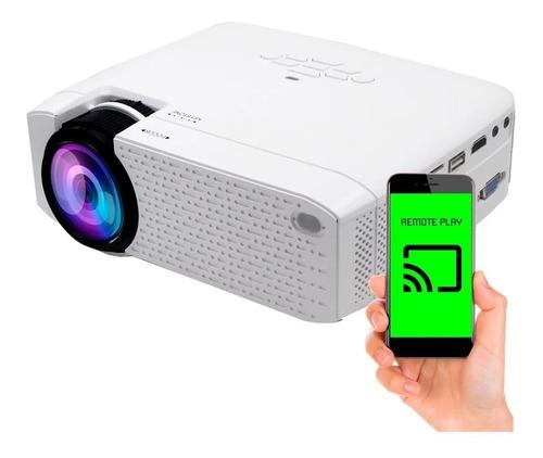 Proyector Kanji 1600 Lumens Hd Wifi Miracast Airplay Hdmi