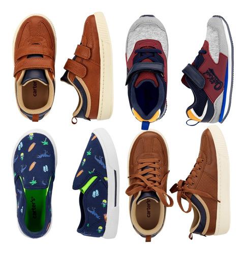 Zapatos De Niños Carters Tallas Desde 19 Hasta 30 Originales