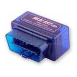 Scanner Automotriz Multimarca Elm327 Obd2 V2.1 Bluetooth Ecu