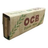 3 Carteras Ocb Organico + Filtros Papel De Rolar (sábanas)