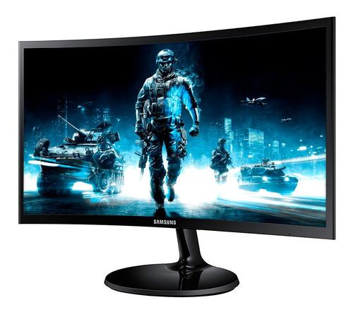 Monitor Curvo Samsung F390 24' Full Hd Gtía 3 Años Loi