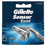 Repuestos Para Afeitar Gillette Sensor Excel 5u