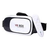 Gafas 3d Realidad Virtual + Joystick Control Bluetooth