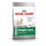 Royal Canin Mini Weight Care Small 3k + Envio Gratis Ohmydog