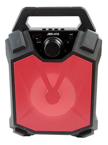 Parlante Bluetooth Recargable Inalambrico Usb Mp3 Luces Led Audioritmicas Compacto Portatil