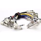 Joyo 6 Pack Patch Cables Para Pedales 15cms - Stock En Chile