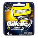 Gillette Repuesto Afeitar Fusion 5 Proshield X 4 Un Cartucho