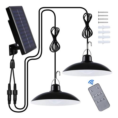 Lamparas Led Solar Colgante 120º C/ Control 240w M2/jp Ideas