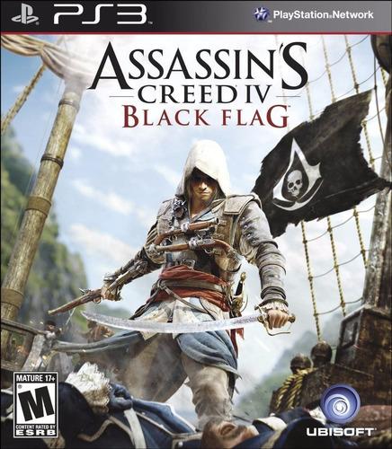 Assassin's Creed 4 Iv Black Flag Juego Ps3 Original Español
