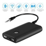 Transmisor Y Receptor De Audio Bluetooth 3.5 Mm 2 En 1