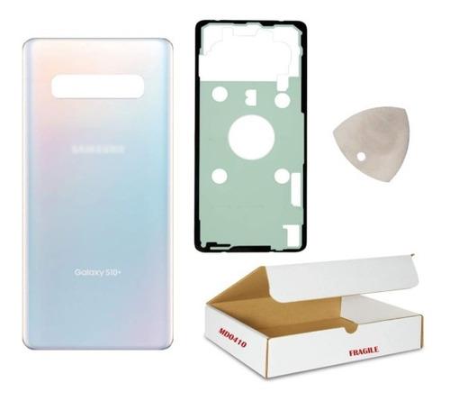 Tapa Trasera S10 Plus Back Glass Compatible Con Samsung