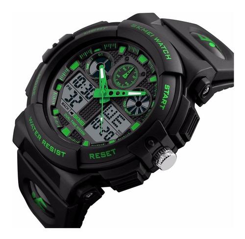 Reloj Digital Tipo Militar Hombre Sport Navy Seal Sumergible
