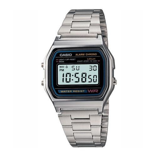Reloj Casio Retro Vintage A-158wa-1 Agente Oficial Caba
