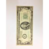 Billete Cien Dólares De 1934