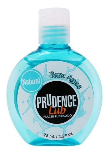 Lubricante Natural Prudence Lub 75 Ml Base Agua Sin Aceites