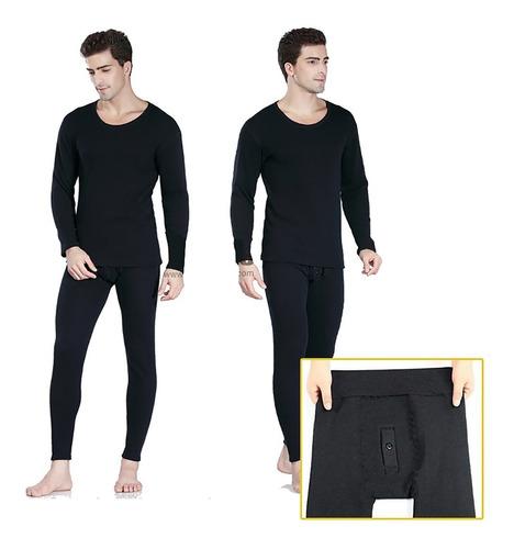 Pantalón Abrigador/calentador/para Uso Interior Con Bragueta