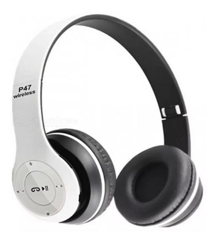 Auriculares Bluetooth P47 Inalámbricos Microsd Manos Libre.