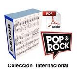 Partituras Para Piano Colección Pop Rock Internacional