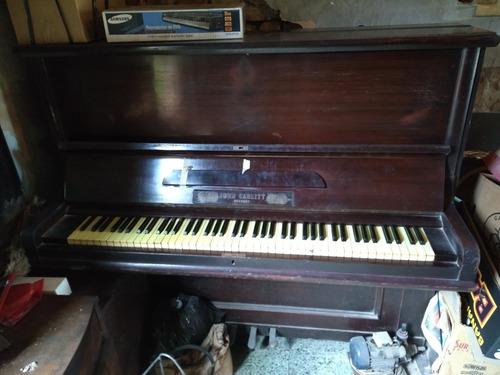 Piano Aleman Vertical Jhon Carlitt Dresden + Banco Funciona