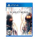 Juego Playstation 4 Scarlet Nexus Ps4 / Sin Interes
