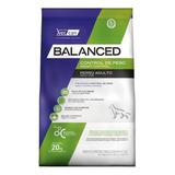 Alimento Vitalcan Balanced Control De Peso Para Perro Adulto Todos Los Tamaños Sabor Mix En Bolsa De 20kg