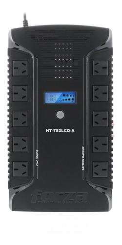 Ups + Estabilizador Forza 750v 10 Tomas Iram + 2 Usb + Rj45