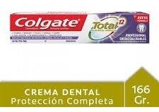 Colgate Total 12 Prof.encias Saludab.125 Ml/162gr Tub