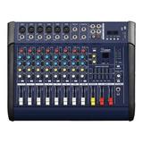 Consola Mixer Apogee Pc10 Potenciada 10 Canales Efectos 48vp