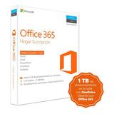 Office 365 Home Premium 5 Usuarios 6gq-00088 Esd 25equipos