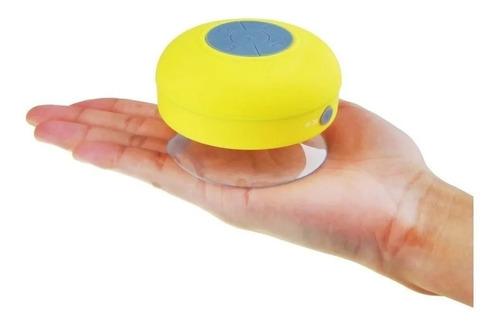 Parlante Portátil Bluetooth Con Sopapa Ducha Baño Ventosa