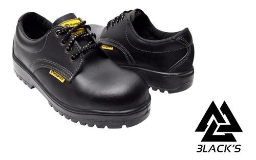 Zapatos De Seguridad Pampero C/ Puntera De Acero Art.649