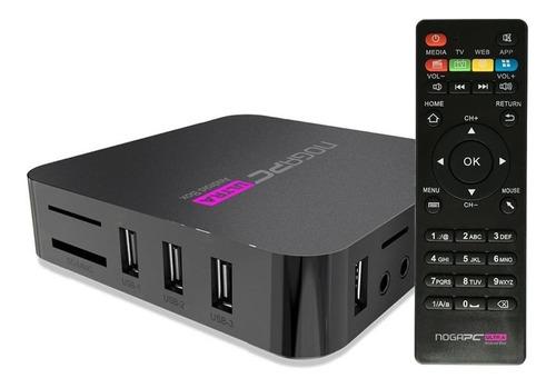 Smart Tv Box Conversor Android Hdmi Wifi 4k Noga Pc Ultra Ep
