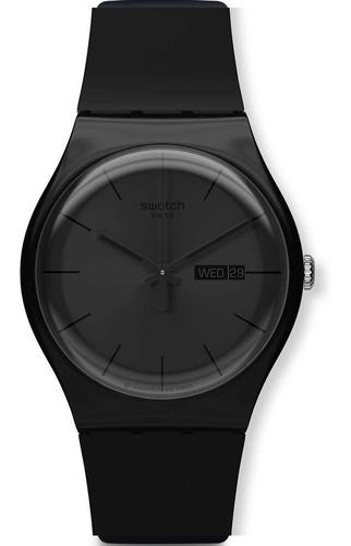 Reloj Swatch Black Rebel Suob702
