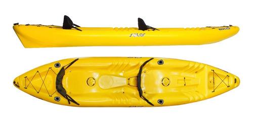 Kayak Hidro2eko Solar Duo Amarillo C/p. Caña- Kayak Feelfree