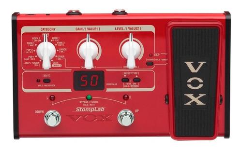 Pedalera Vox Sl2b Para Bajo Electrico Multiefectos Con Pedal