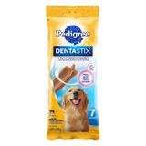 Petisco Para Cães Adultos Raças Grandes Pedigree Dentastix Pacote 270g 7 Unidades