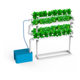 Sistema Hidroponia Vertical + Duomix Nutrientes - 32 Macetas