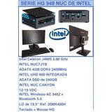 Computador Mesa Intel Nuc Dual Core J4005.