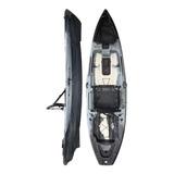 Kayak Hidro2eko Mako 110 Std Gris Y Negro - Kayaks Feelfree