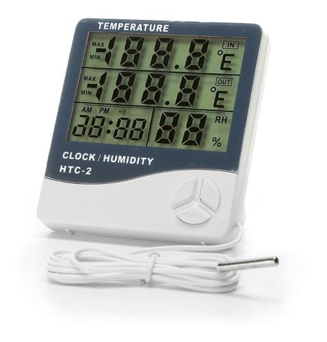 Medidor De Temperatura Termohigrometro Digital Humedad Grow