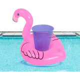 Portavasos Flamingo Inflables Fiesta Alberca Piscina Playa