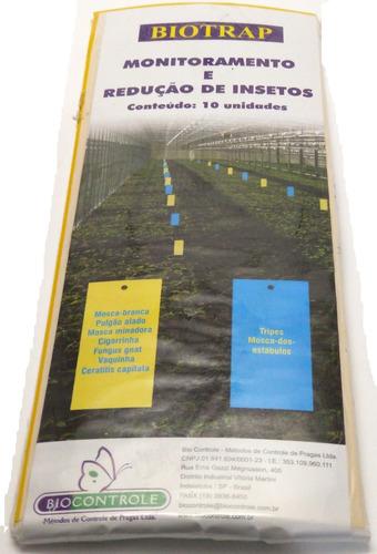Armadilha Para Insetos Biotrap Amarela Monitoramento Insetos