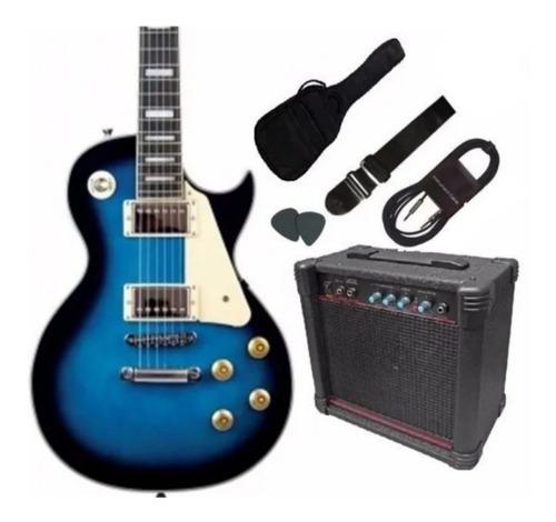 Gran Pack Guitarra Electrica Lespaul Amplificador Accesorios