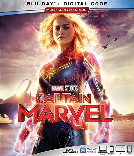 Captain Marvel Blu-ray Nuevo Original Importado