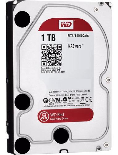 Disco Rigido Hd 1tb W.digital Red 5400 64mb Nas
