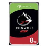 Disco Rigido Seagate Ironwolf 8tb Nas 3.5 7200 Rpm