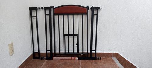 Puerta De Seguridad Para Perro /gato Extens. A 95 Cm Ancho